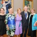 "From left: Jennifer Thompson, Curator, Philadelphia Museum of Art; Hannah Henderson, Trustee Emeritus, Board of Trustees, Philadelphia Museum of Art; Sally Sharkey; H. F. ""Gerry"" Lenfest, Chair Trustee of the Philadelphia Museum of Art; and Gail Harrity, appointed President and COO of the Philadelphia Museum of Art"