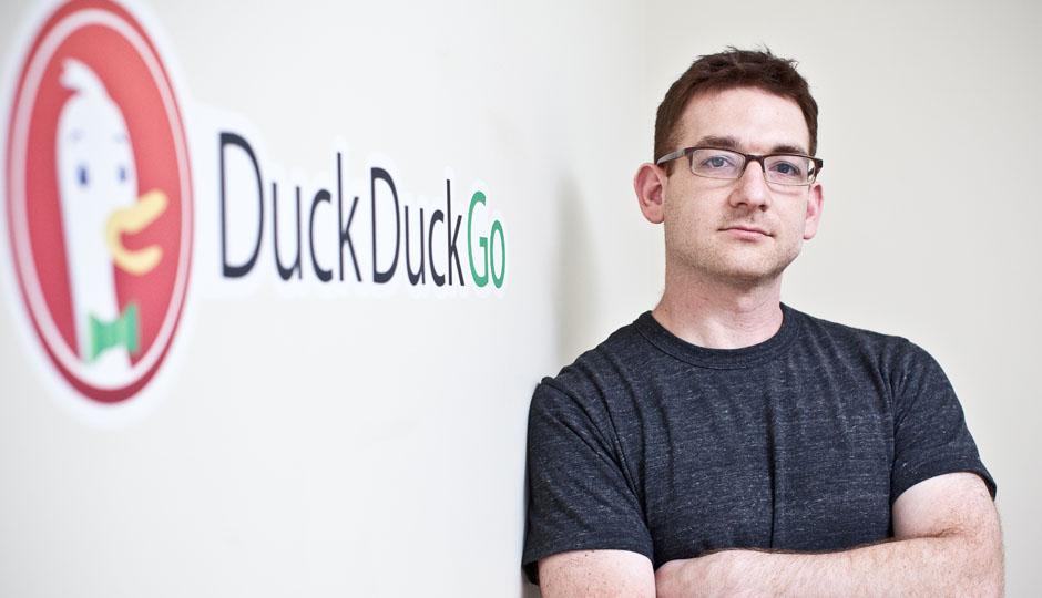 DuckDuckGo Founder and CEO Gabriel Weinberg.
