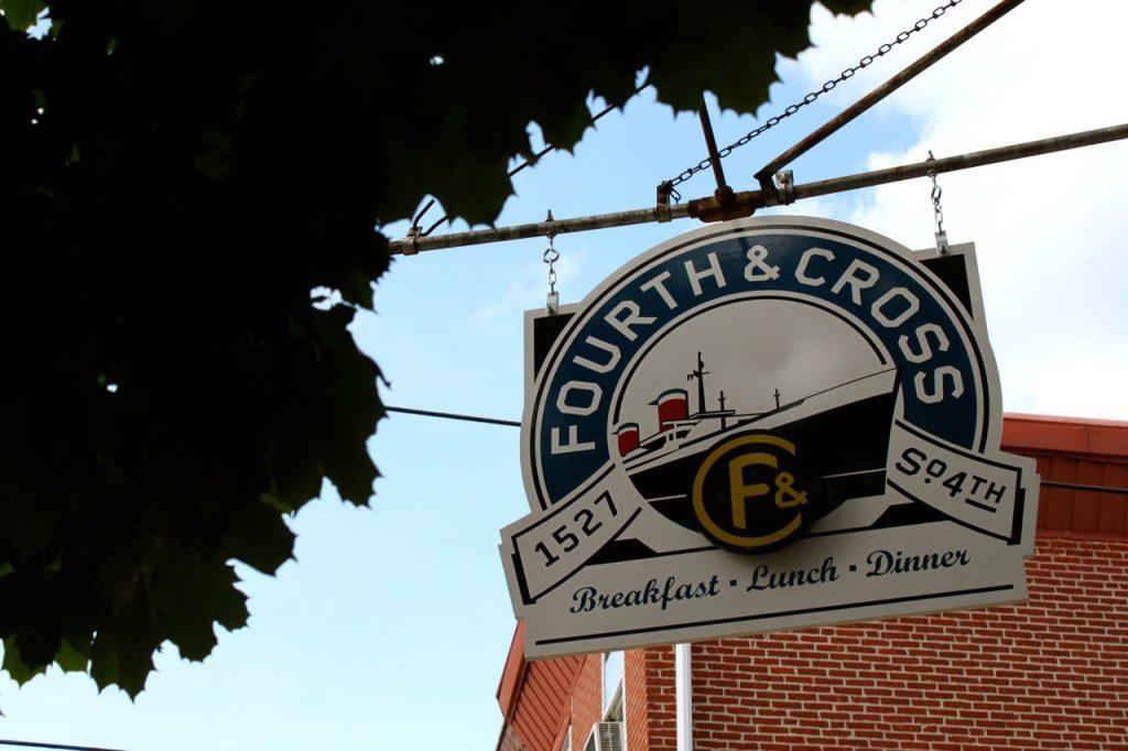 Fourth&CrossSign