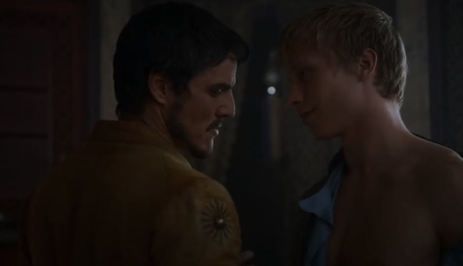 Gay game of thrones scene