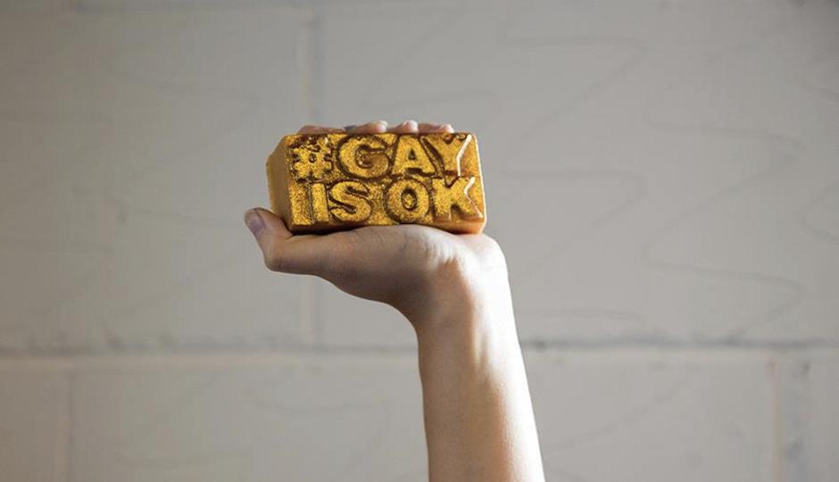 Gay Is Okay Soap Crop