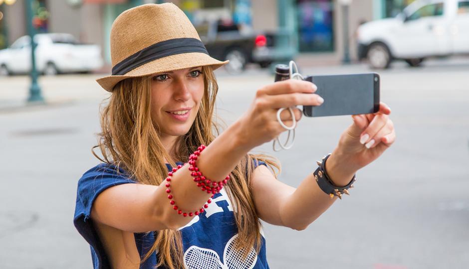 Girl-selfie
