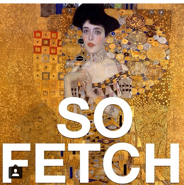 so fetch mean girls art history may be the best instagram