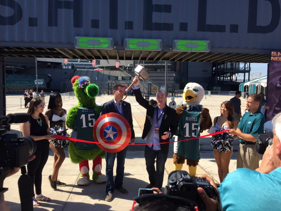 PHOTOS: My Day at Philly's Marvel Experience - Philadelphia Magazine