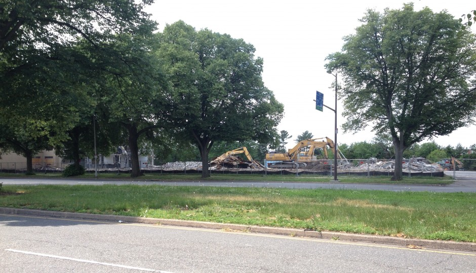 The soon to be lot will be right off of the exit of I-76 westbound   Photo: James Jennings