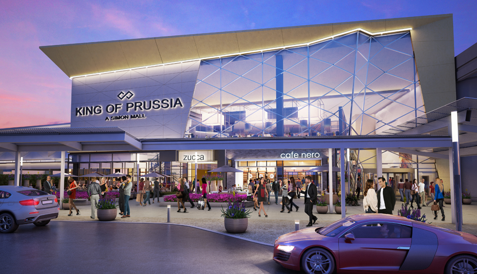 The King of Prussia Mall expansion project is in full swing.