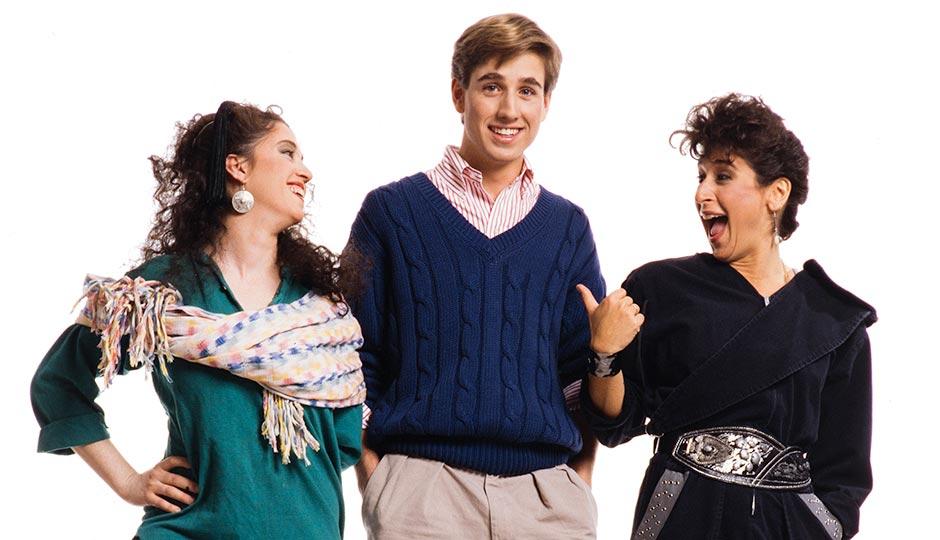 "Beau Biden from Philadelphia magazine's April 1988 feature ""Second Generation,"" with Rena Potok, left, and Deserie Blavat. Photograph © 1988 Jim Graham"