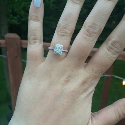 Megan's ring!