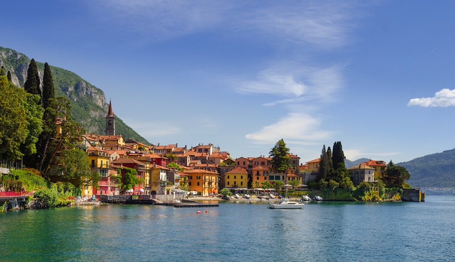 We wouldn't mind seven nights in Lake Como.| Shutterstock.