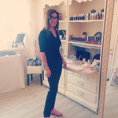 Monica Virga in her adorable Rittenhouse boutique.