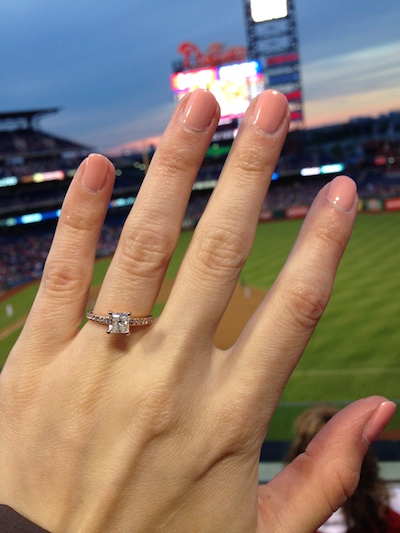 Kristina's ring!