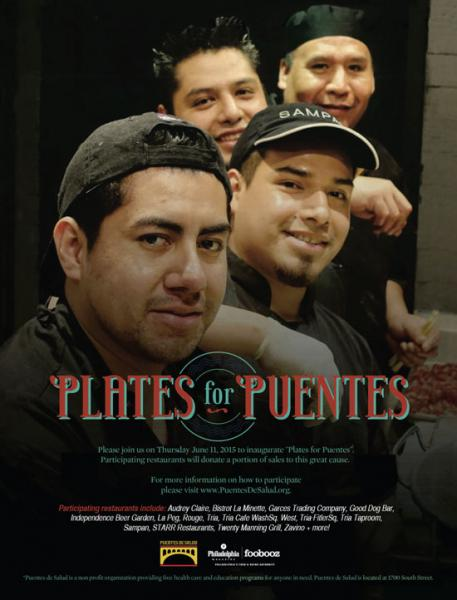 Plates for Puentes on June 11th, 2015.