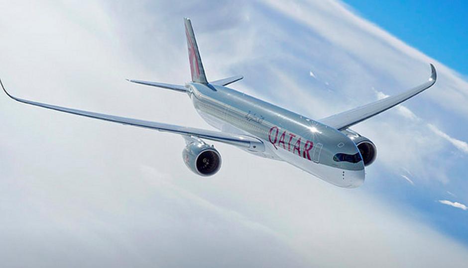 Qatar Airways' A350 XWB will make its Philly debut on Jan. 1, 2016.
