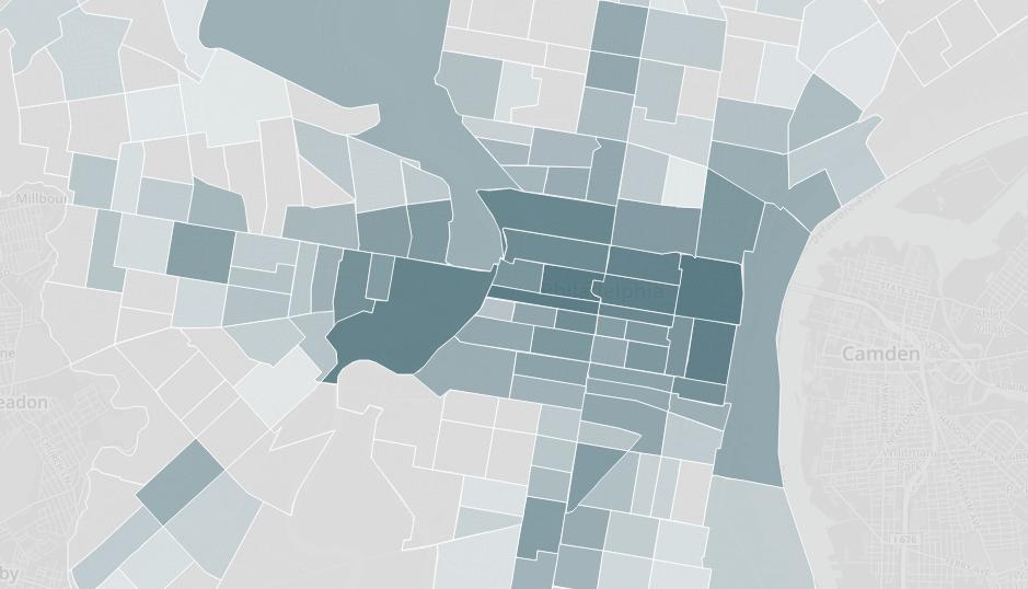 Philadelphia-Parking-Ticket-Heatmap