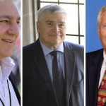 From left: Graham Spanier, Eric Barron, Ridney Erickson.