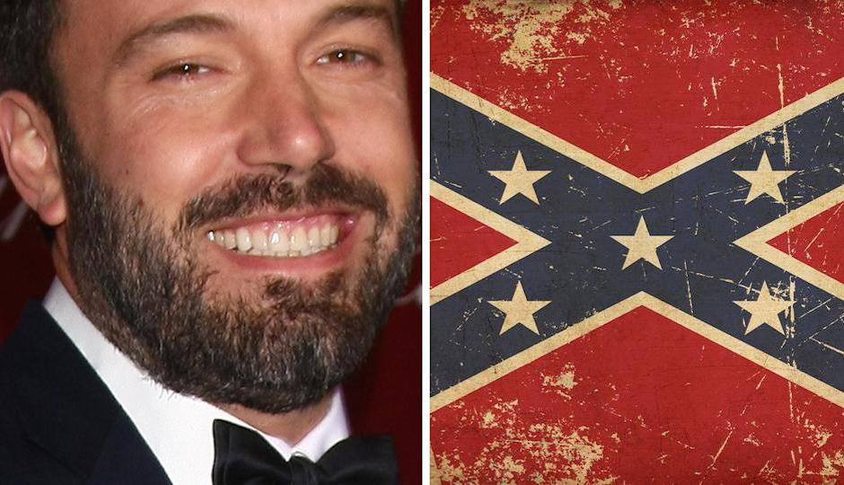 affleck confederate slaves