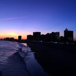 Atlantic City at dusk, November 2014