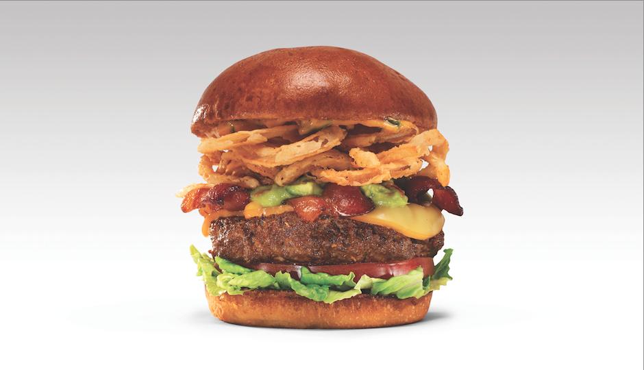 Burger 21's Texas Haystack burger