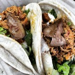 foie topped tacos