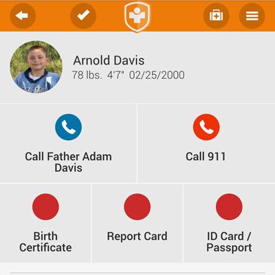 A screenshot of SafetyTag.