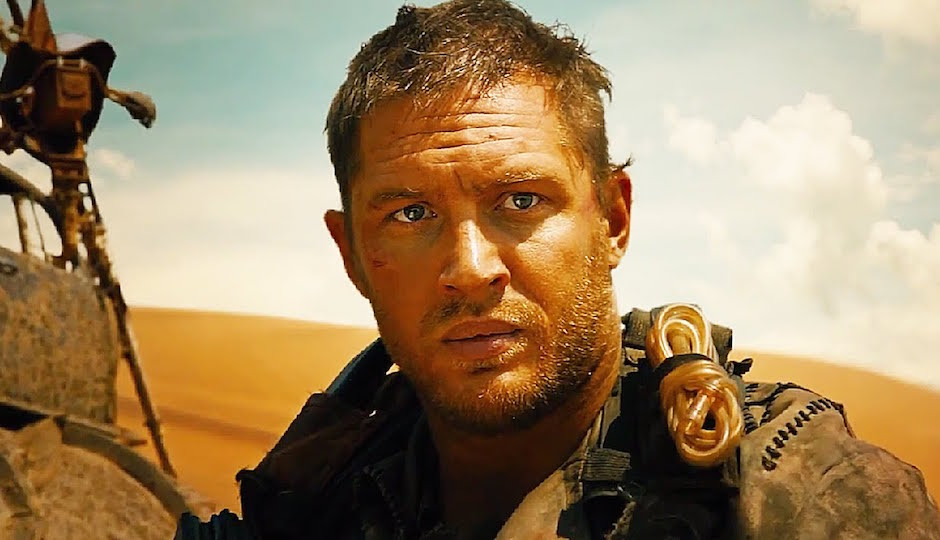 Tom Hardy in Mad Max.