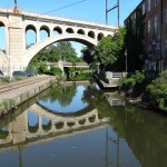 The Manayunk Bridge will soon connect both sides of the Schuylkill River | Photo: Liz Spikol