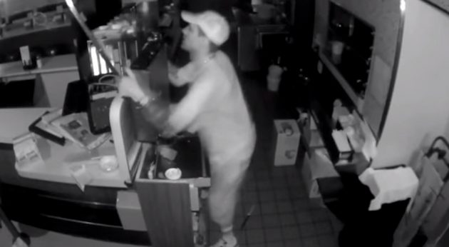 Suspect in Old City burglary (Philadelphia Police Department)
