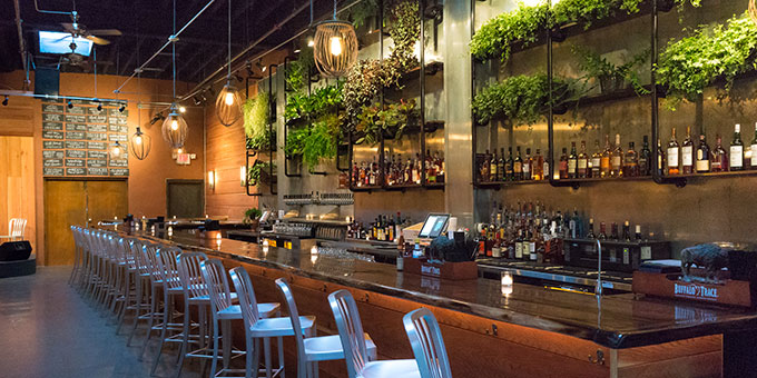The bar at Heritage | Photo by Danya Heninger