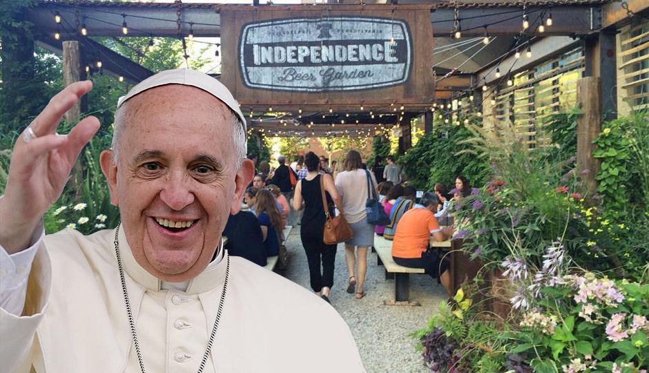 pope-beer-garden