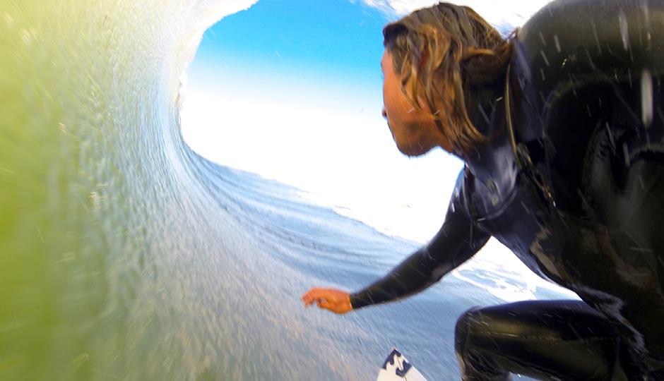 Pro surfer Rob Kelly.