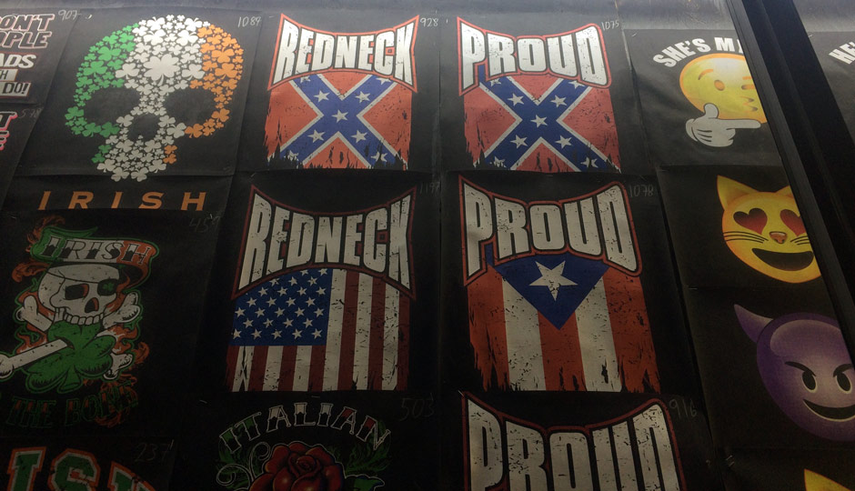 Confederate Flags in Wildwood
