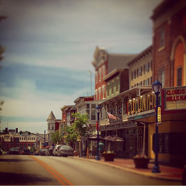 Bridge Street in Phoenixville.