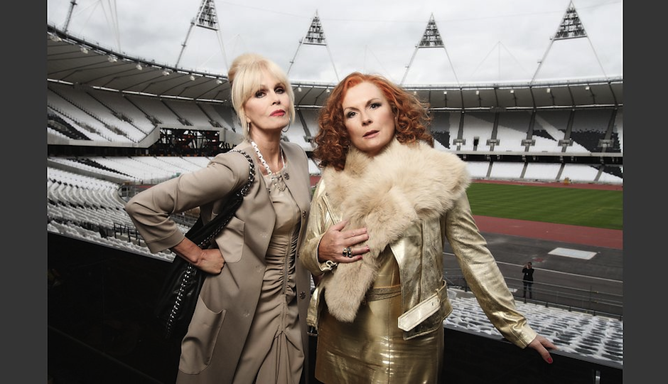 """From the official """"Ab Fab"""" BBC website."""