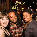 Partiers at a recent Stimulus Back 2 Basics event.
