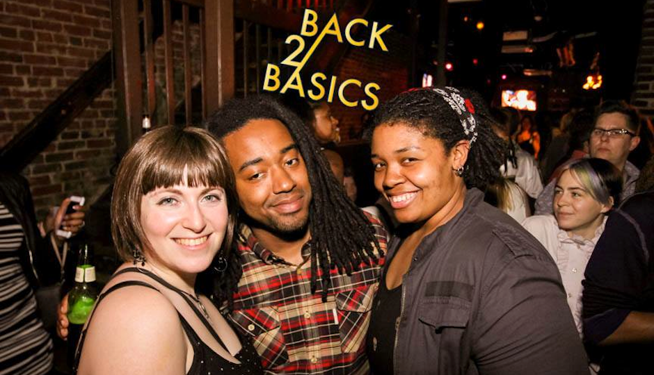 A recent Stimulus Back 2 Basics party.