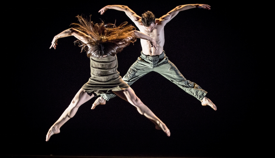 Los Angeles dance troupe Bodytraffic | Photo by Tomasz Rossa