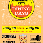 University City Dining Days 2015
