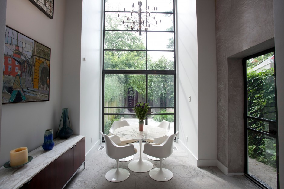 The breakfast room |Photos by Laura Kicey via Marion Dinofa, BHHS Fox & Roach