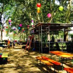 Oval Beer Garden