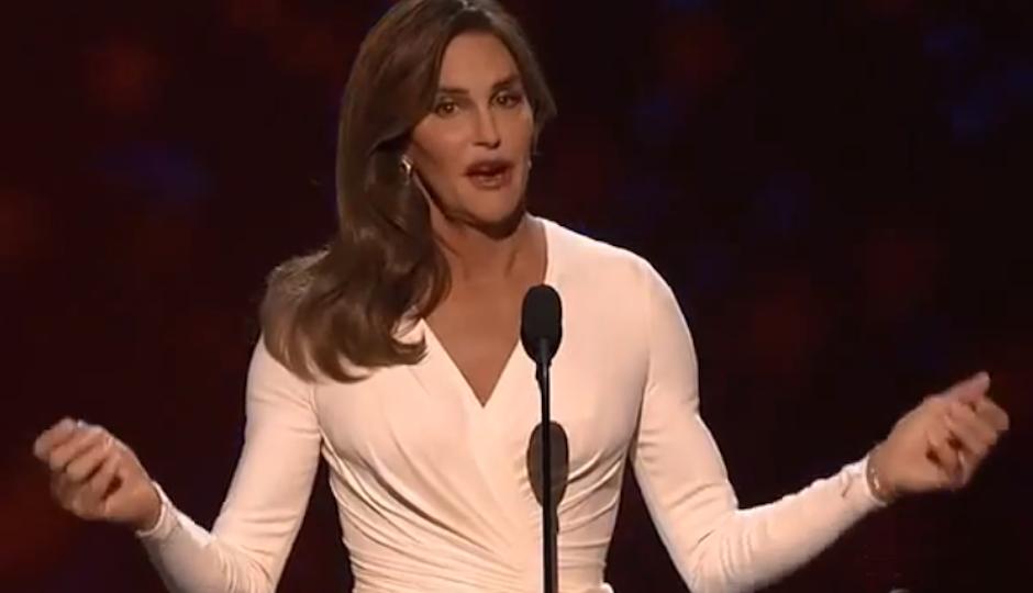Caitlyn Jenner on the ESPY Awards.