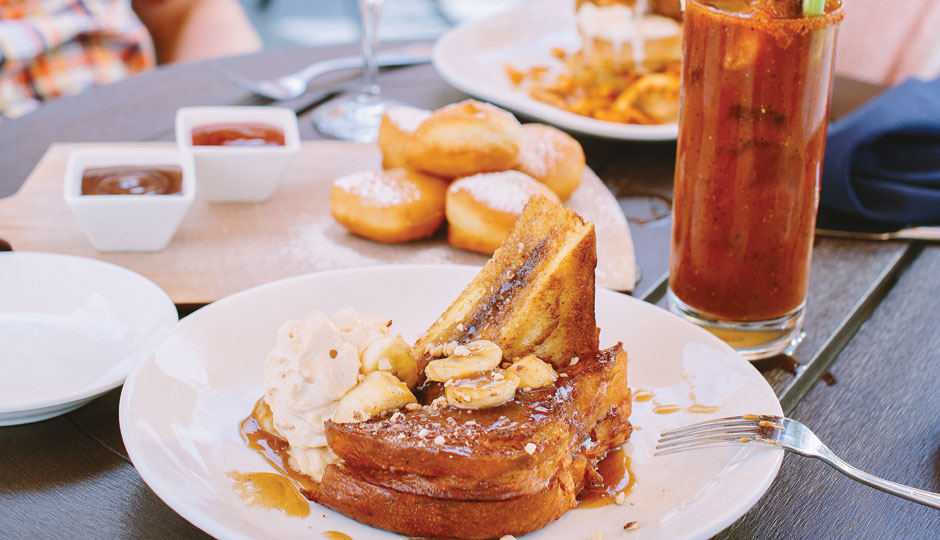 Brûléed French toast at Blue Bell Inn in Blue Bell | Photo by Jauhien Sasnou