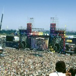 A crowd of 100,000 filled JFK Stadium in South Philly for the all-day benefit show. Photograph by Dan Larson