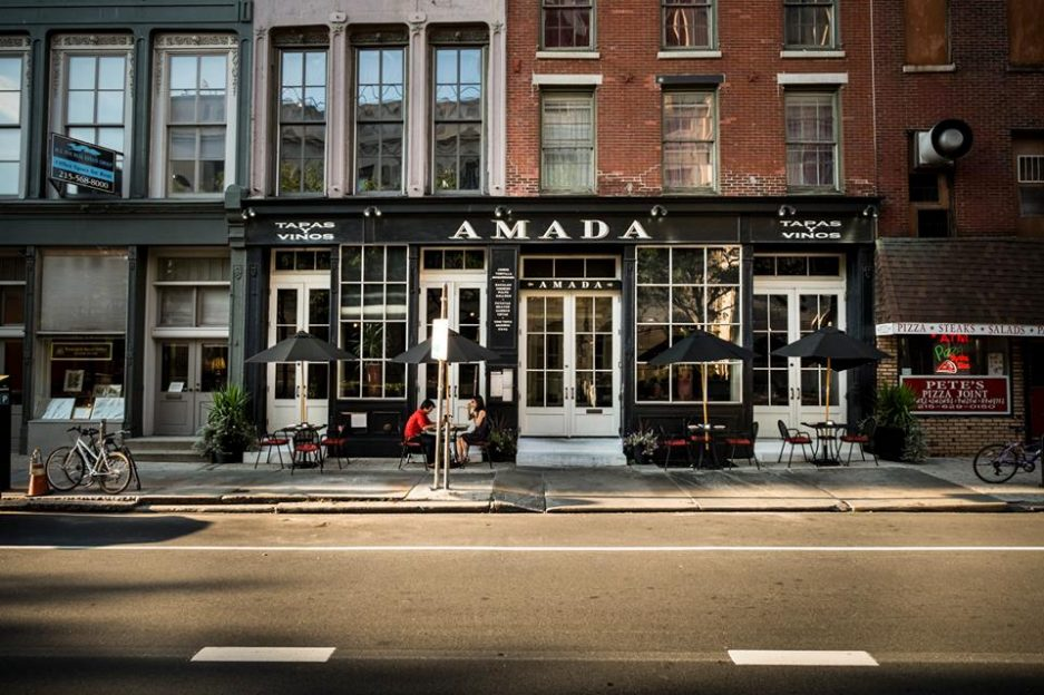 Amada Old City Restaurant Week