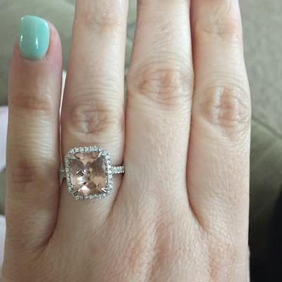 Kristin's ring!