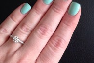 Audrey's ring!