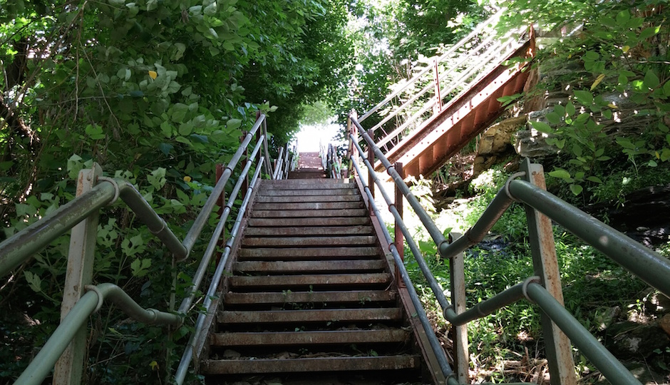 Philly stairs_Roxborogh up