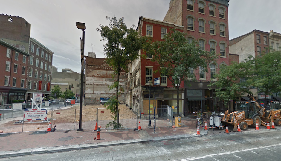 304 Market Street, the former Suit Corner site is to the left | Image: Google Street View