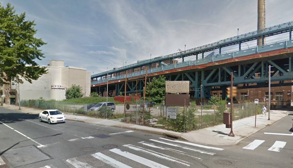 The lot at 205 Race as of June 2014 | Google Street View