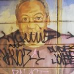 Bill Cosby mural