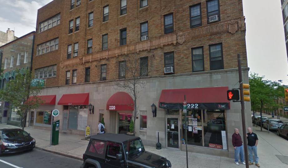 2216-2222 Walnut Street   via Google Street View